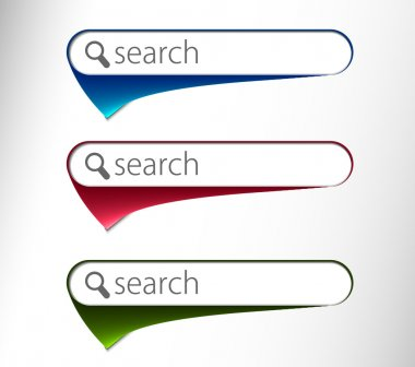 3d glossy search icon