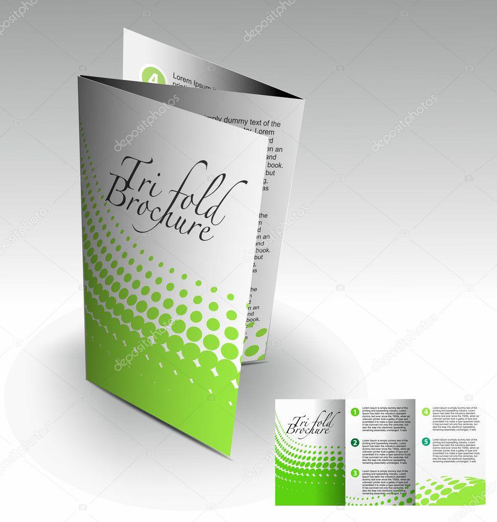 how to fold a tri fold brochure