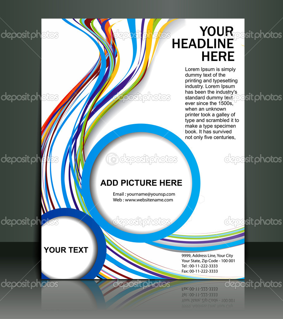 Poster design vector graphics - Vector Editable Presentation Of Flyer Poster Design Content Background Vector By Redshinestudio