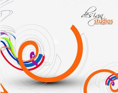 Swirl design icon