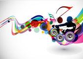 hudební pozadí