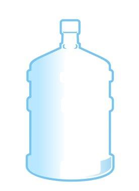 Big plastic bottle of water