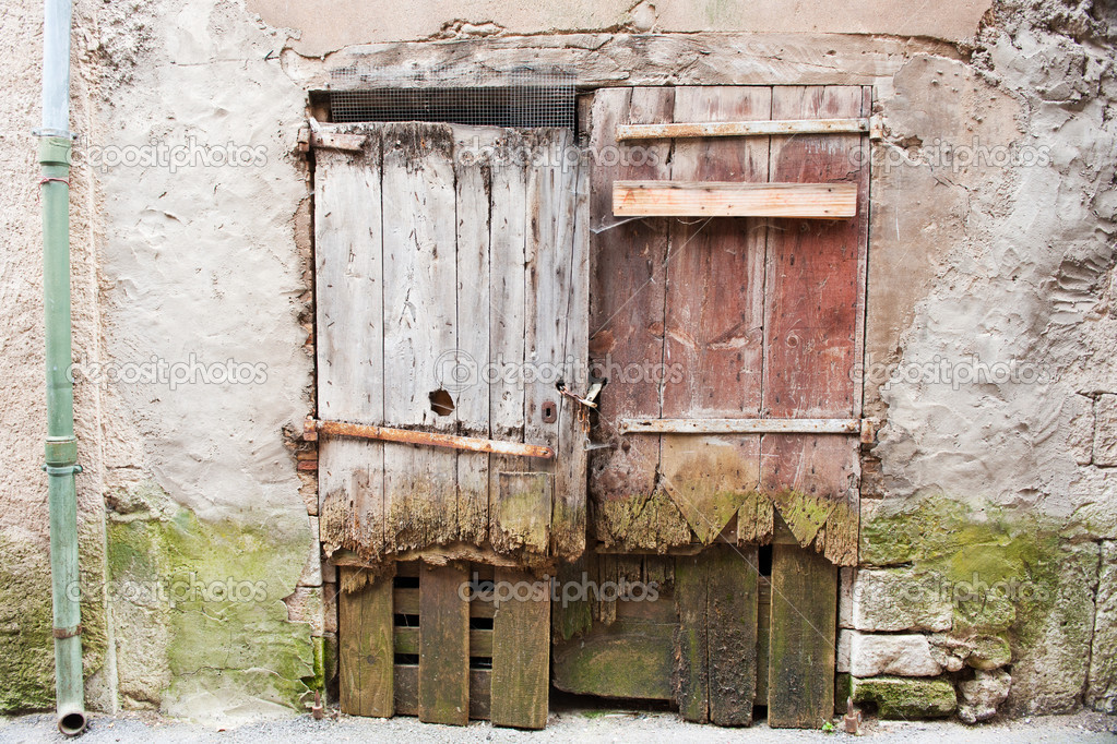 portes en bois en france — Photo #6147798