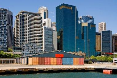 Wharf & City Buildings