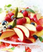 čerstvé ovoce moučník