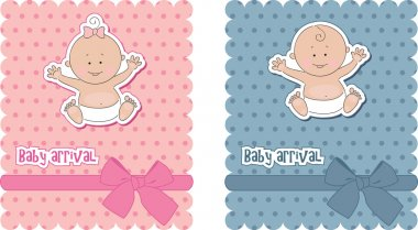 Baby arrival cards