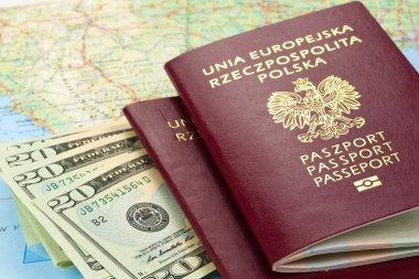 Passports and money