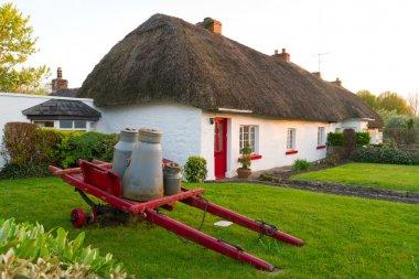 Irish traditional cottage house