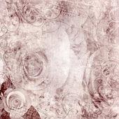 Photo Grunge Beautiful Roses Background ( 1 of set)