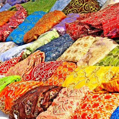 Textile in tunisian market