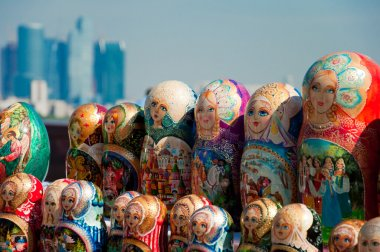 Russian national souvenir - matryoshka