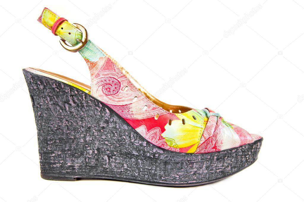 sports shoes af98a 2852f Modische damen sommerschuhe — Stockfoto © olenka-2008 #5937080