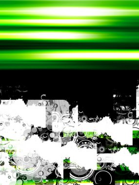 Green design whit sample text stock vector