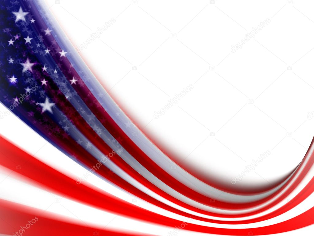 United states of america flag. computer generated image