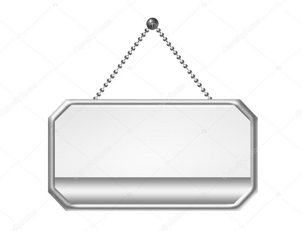 Blank door sign u2014 Stock Photo  sc 1 st  Depositphotos & Blank door sign u2014 Stock Photo © yupiramos #6114674
