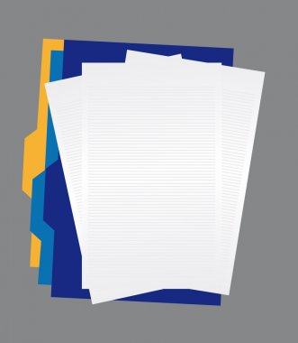 papers and folders