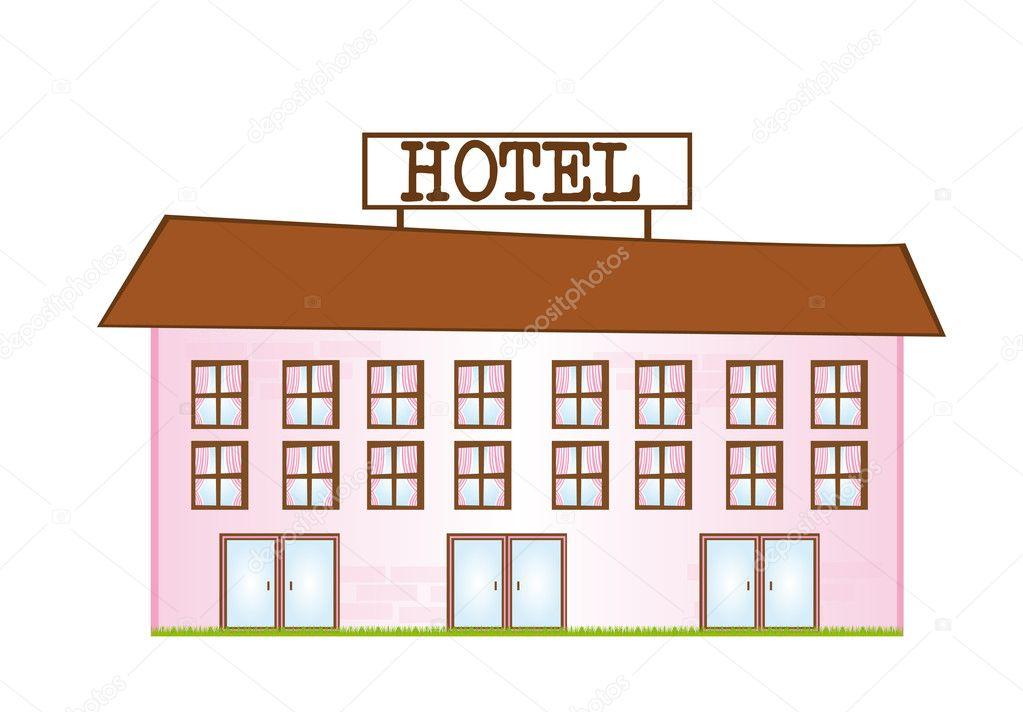 hotel — Stock Vector #6377694