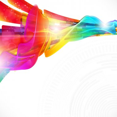 Abstract modern design background with editable elements.