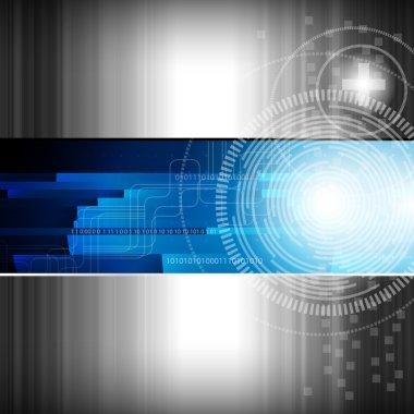 Abstract digital background - vector illustration