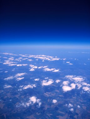 Earth aerial view.