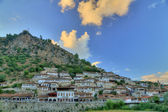City of Berat in Albania