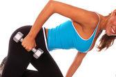 Fotografia sexy libero peso allenamento