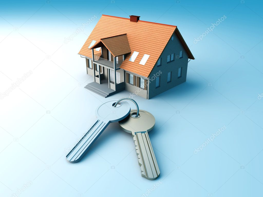 House And Keys Stock Photo C Spectral 5794971