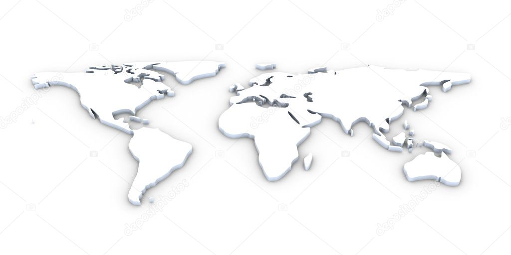 3d world map stock photo spectral 6104954 3d illustration an abstract worldmap photo by spectral gumiabroncs Choice Image