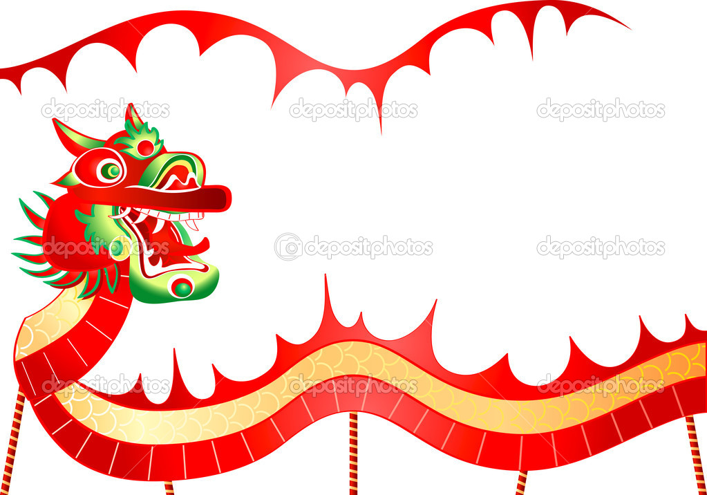 Chinese dragon — Stock Vector © sahuad #6430998