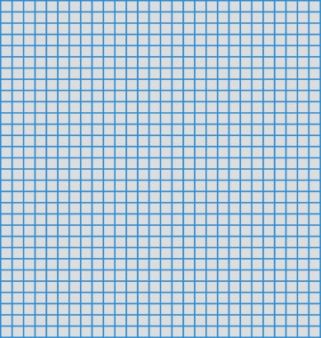 Details of a grid or matrix of blue horizontal and vertical lines, often us