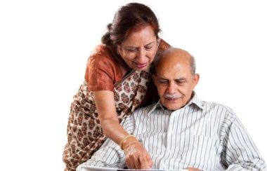Senior Indian couple