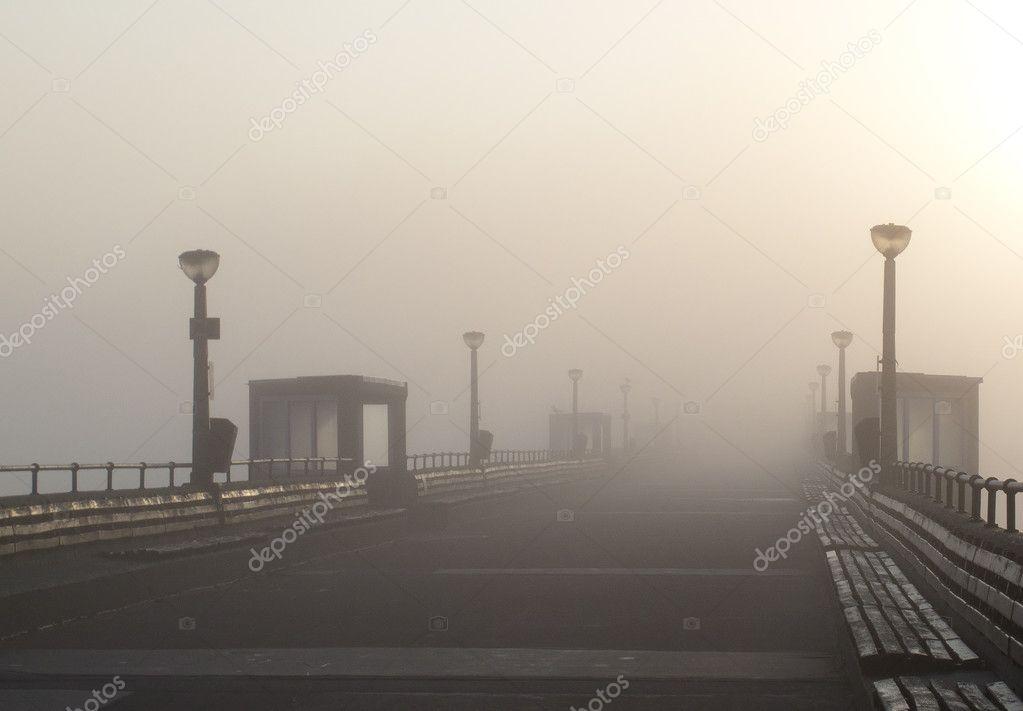 Deal Pier Morning Mist