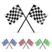 Fotografia bandiere a scacchi
