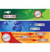 tři bannery pro firmy avia