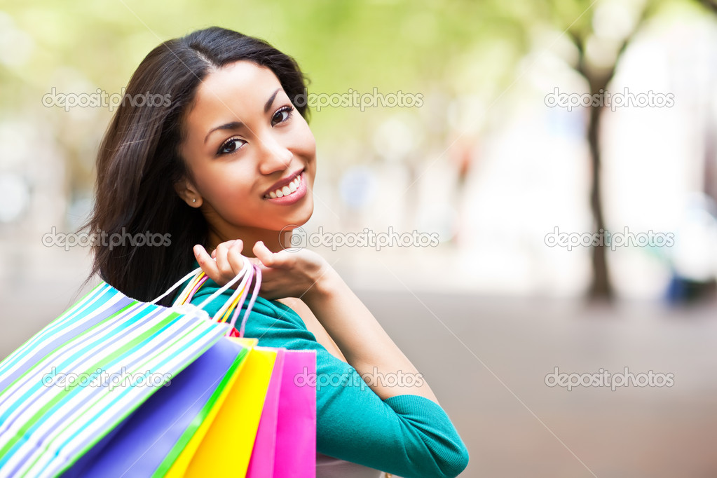 Image result for shopping black woman