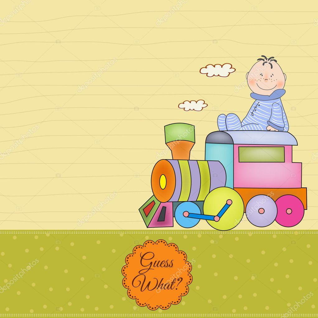 Открытка с поездом день рождения, днем венчания мужу