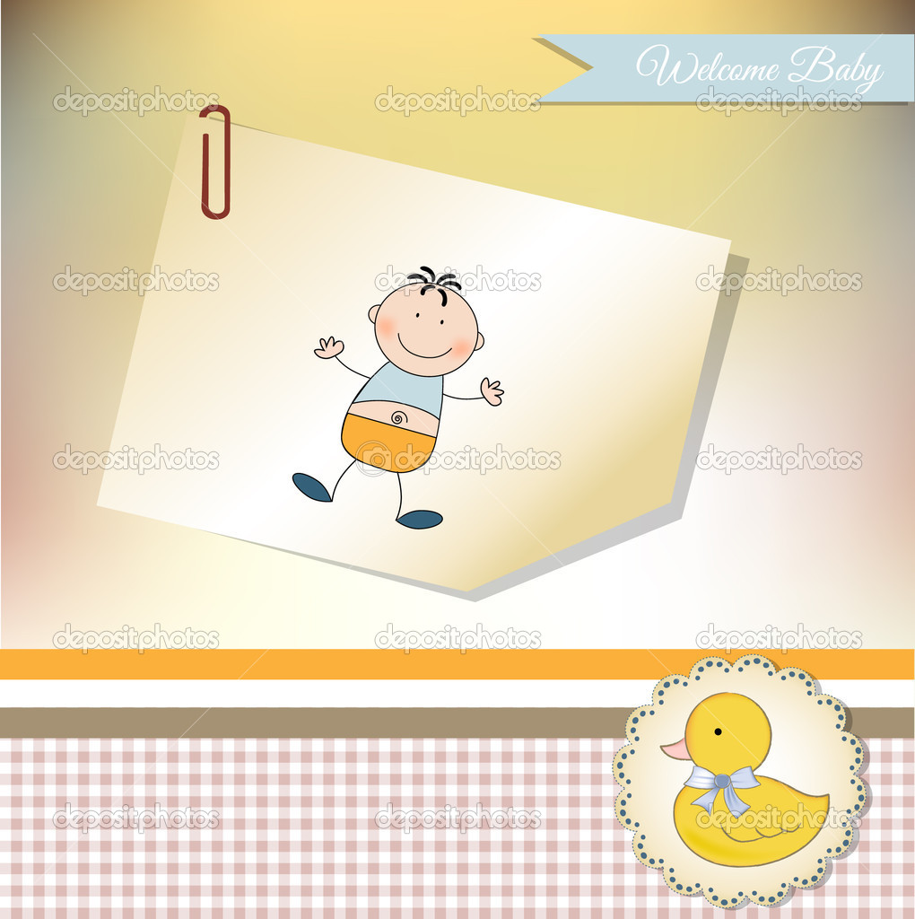 Welcome baby greeting card stock photo claudiabalasoiu 6466752 welcome baby greeting card stock photo m4hsunfo
