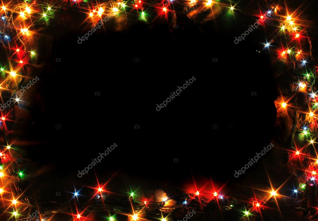Xmas frame — Stock Photo © jonnysek #5598008