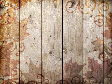 Wood vintage background