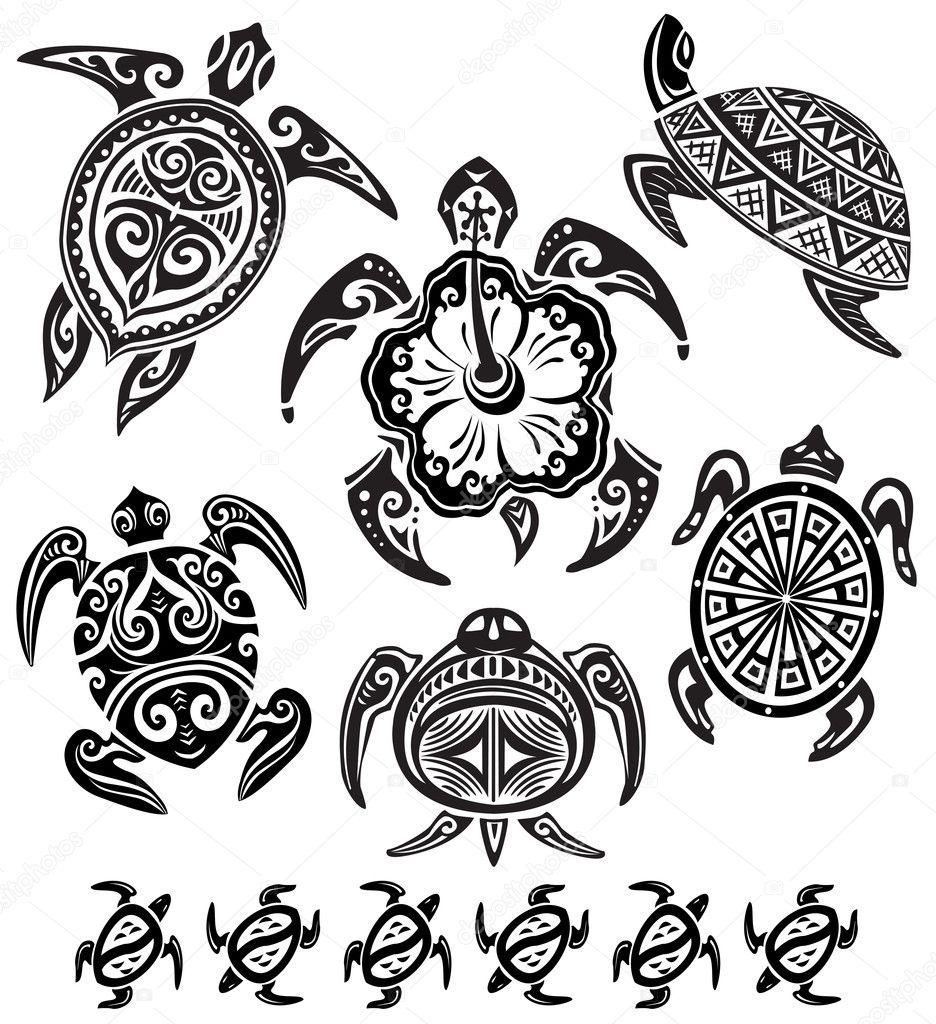 Tortugas decorativas vector de stock wikki33 5641534 - Fotos decorativas ...