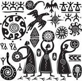 prvky pro navrhování primitivní umění
