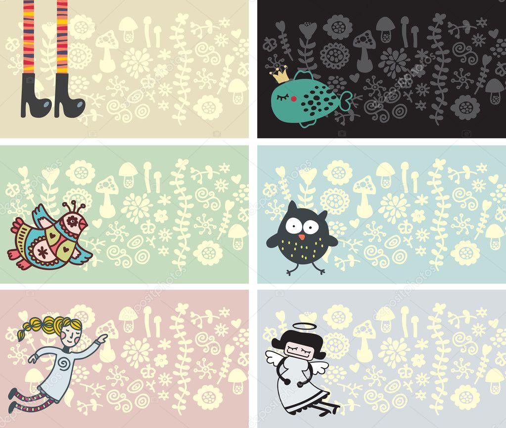 Visitenkarte Für Kinder Und Kunstinteressierte