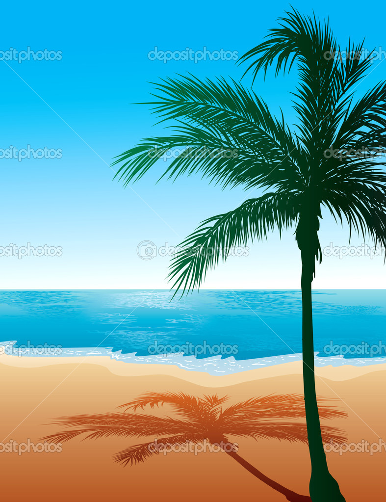 Beach Background 9