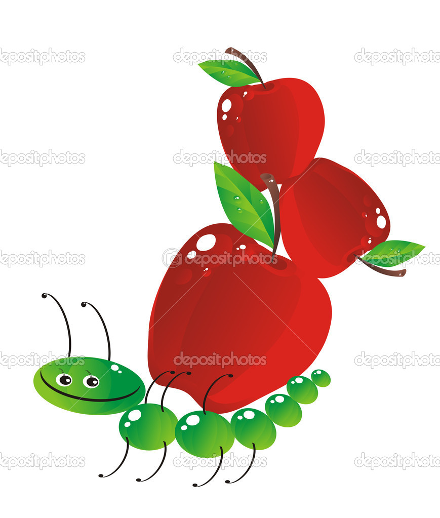 Cheerful caterpillar