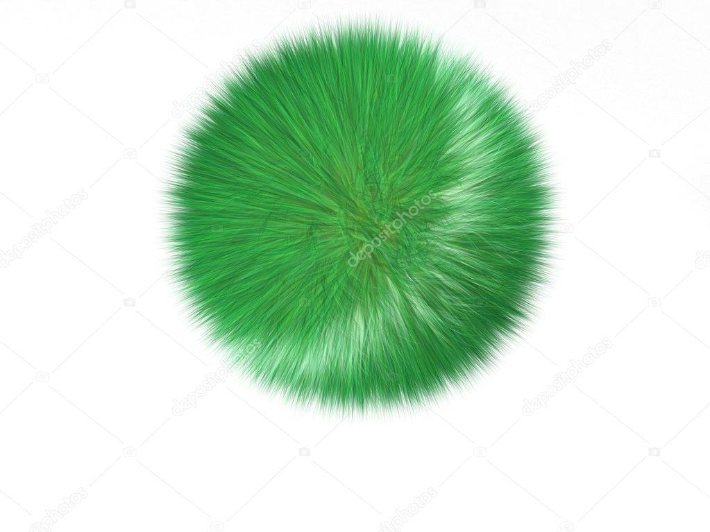 Ball of grass