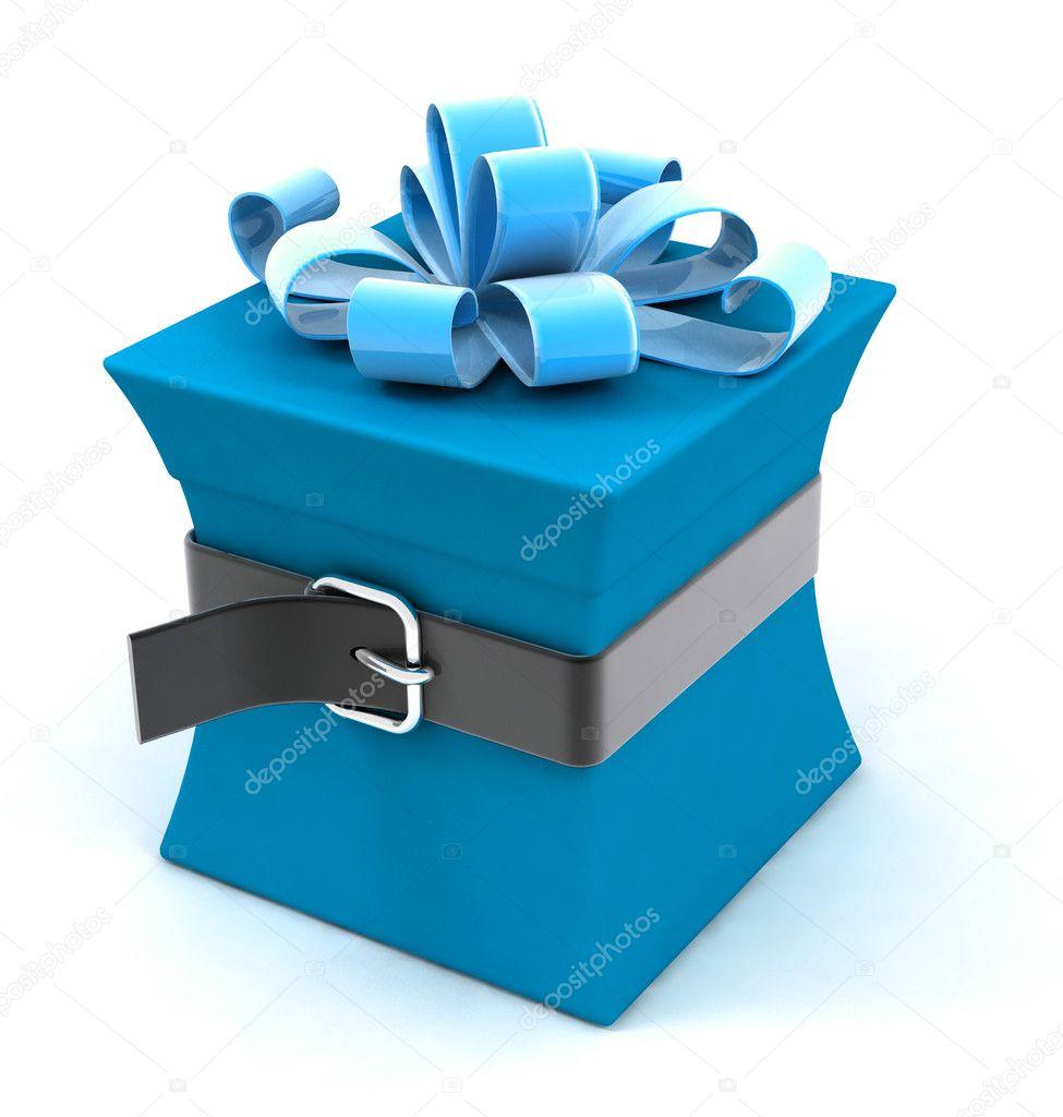 Schone Geschenk Box Auf Diat Stockfoto C Iraidka 6584197
