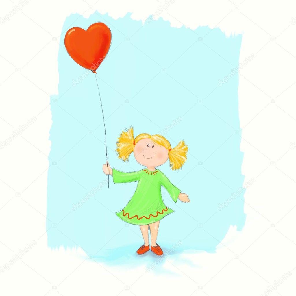 Tatlı Küçük Kız Stok Foto Luisaventuroli 5811756