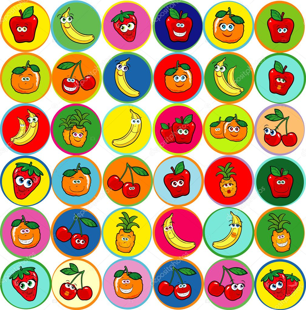 Happy fruits, mix