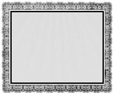 Vector Ornate Vintage Frame