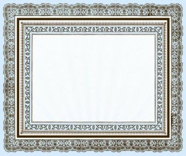 Vector Vintage Layered Frame Set